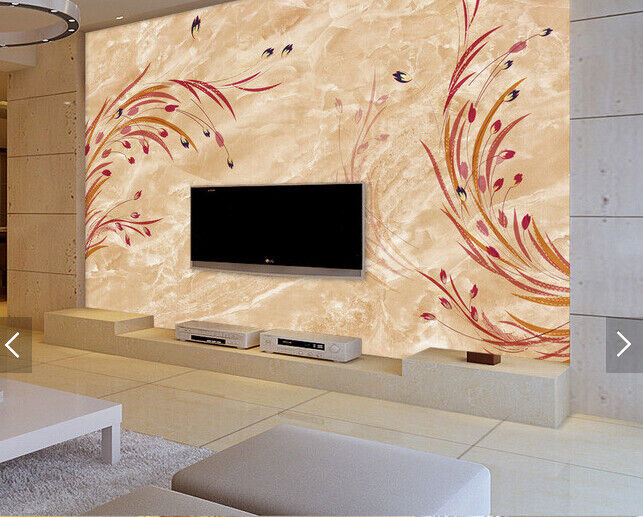 3D ROT Wheat Ears 6889 Wall Paper Wall Print Decal Deco Indoor Wall Mural CA