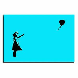 Balloon-Girl-Banksy-Single-Canvas-Wall-Art-Picture-Print-2-t