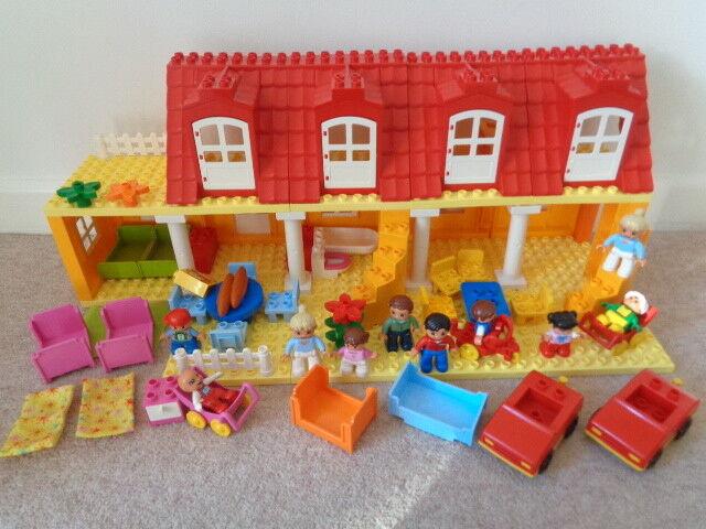 Duplo  house famliy furniture