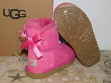 fc7025a86f9 UGG Kids Pink Mini Bailey Bow Flowers Boot Size 3 Girls #1016234k ...