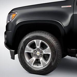 2015-2018 Colorado GM Black Front & Rear Fender Flare Kit ...