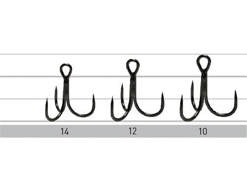 #14 #6 sizes barbless treble hooks Owner STBL36BC