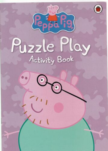 1 of 1 - Peppa Pig Puzzle Play Activity Book
