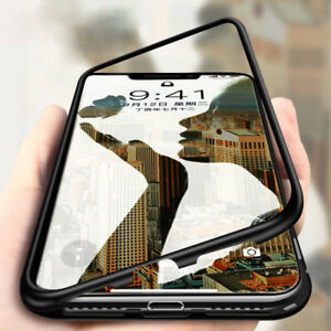 360-Magnetic-Metal-Shock-Proof-Case-Tempered-Glass-Back-Cover-iPhone-6-7-8-10-X