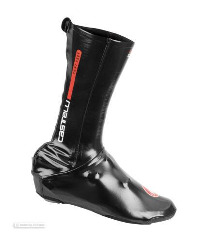 Castelli FAST FEET ROAD Shoe Covers Aero Wind//Waterproof Cycling Overshoes BLACK