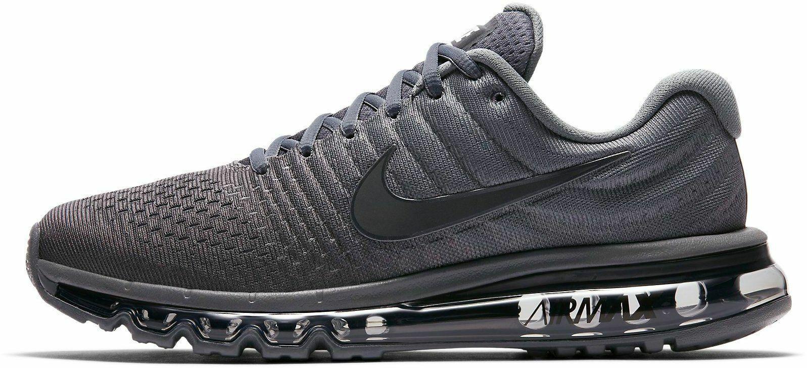 Nike Air Max 2017 Mens Cool GreyAnthraciteDark Grey UK Online
