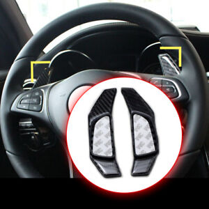 Carbon Fiber Steering Wheel Shift Paddle For Benz A B C E S Class W218 X156 X205