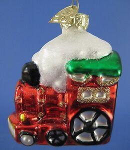 Thomas The Train Christmas Tree.Details About Train Engine Glass Christmas Tree Ornament Thomas Pacconi Snow