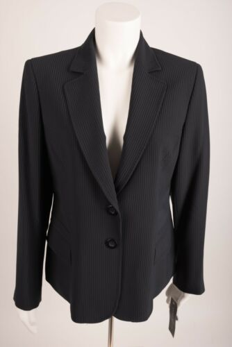 Tags Classic med Fit Navy Petite Klein Blue Women's Anne Ny 12p Suit Blazer Z7n1aO