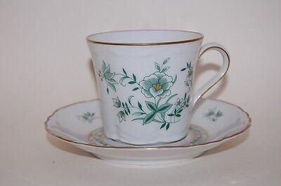 Kaffeetasse 2tlg Racine indisch grün Jardin Hutschenreuther NEU