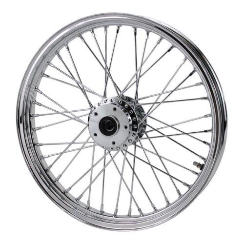 """Chrome Rear Scrambler Wheel 40 spoke 18/""""x 2.5/"""" Fits Sportster 1982-2003"""