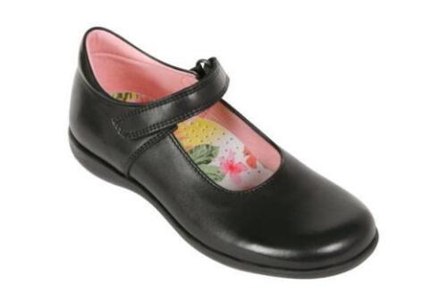 100/% Positive Review F /& G Fit School Shoes Petasil Bea Girls Black Leather E