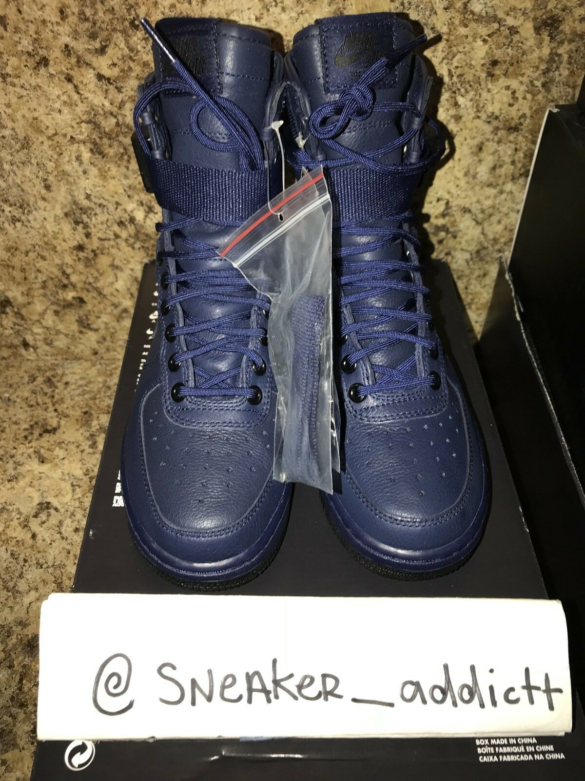 NIKE WMNS AIR FORCE 1 SF AF1 SPECIAL FIELD USA BLUE SZ 6 [857872-400]