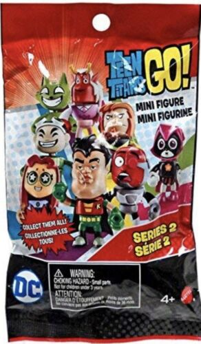 ROBIN Blind Bag New SEALED Teen Titans Go Series 2 Mini Figure