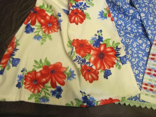 Set Pioneer Woman Crochet Top Cotton Kitchen Towels Classic Charm 4