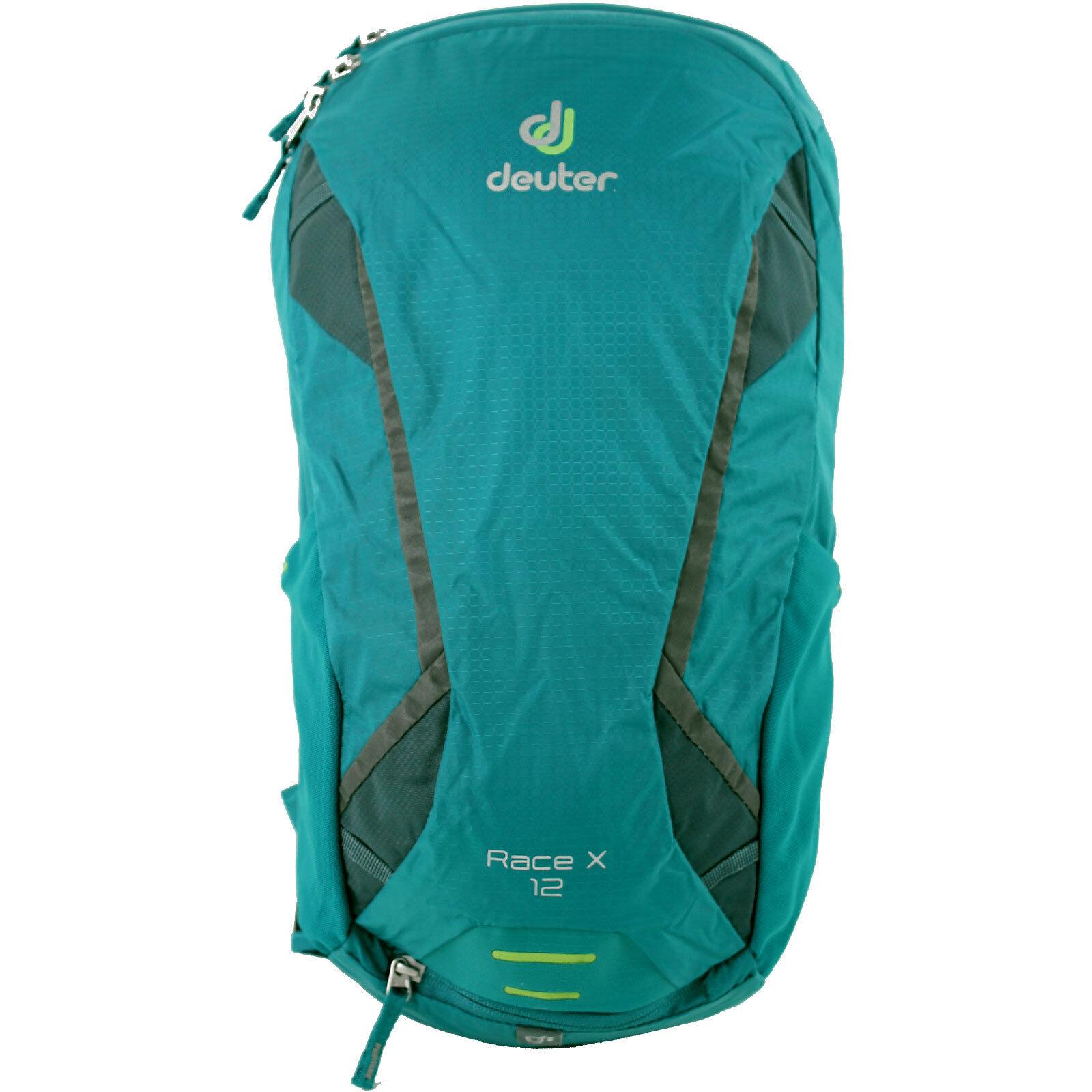 to buy designer fashion details for Deuter Race X Rucksack Petrol-arctic 44 X 25 X 15 Cm 12 L