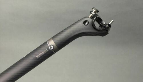 TOSEEK 3K Carbon Seatpost Offset MTB Road Bike Bicycle Seatpost 27.2//30.8//31.6mm