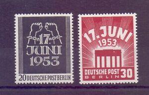 Berlin-1953-Volksaufstand-MiNr-110-111-postfrisch-Michel-50-00-912