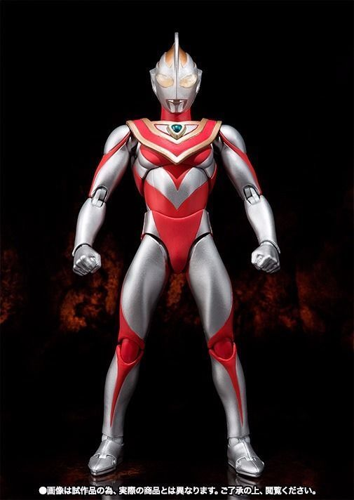 ULTRA-ACT ULTRAMAN GAIA & XIG FIGHTER Set Action Figure TAMASHII NATIONS BANDAI