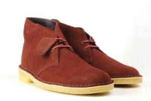 b1163647ff0 Image is loading Clarks-Mens-Nut-Brown-Suede-Leather-Desert-Ankle-