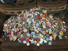 10 Random Vintage Matches Matchbooks Mostly 1930's - 1950's -Most have Matches