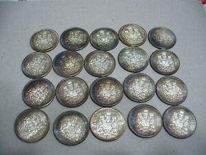 LOT-OF-20-1960-CANADA-HALF-DOLLAR-SILVER-COINS-50-CENT-PIECE-TONED