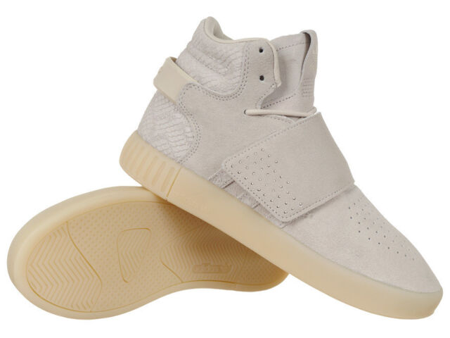 Men's adidas Originals Tubular Invader Strap Shoes Ankle Sneakers Everyday