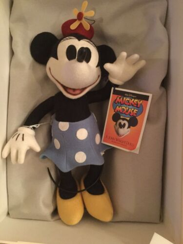 "13"" Minnie Mouse Mickey's Sweetheart #299500 R. John Wright Mint in Box"