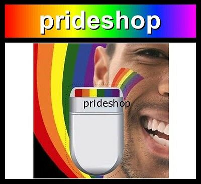 Rainbow Face And Body Paint Marker Rainbow Flag Design Gay Lesbian Pride #0092
