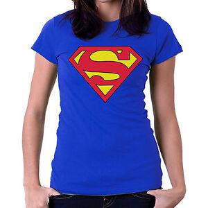 Superman-Girls-Tshirts-Womens-T-shirts-Ladies-Tee-Shirts