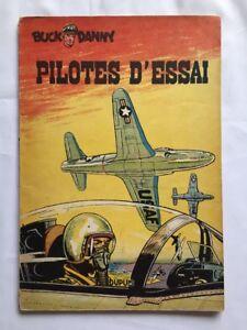 BD-Buck-Danny-Pilotes-d-039-essai-10-EO-1953-HUBINON-amp-CHARLIER-DUPUIS