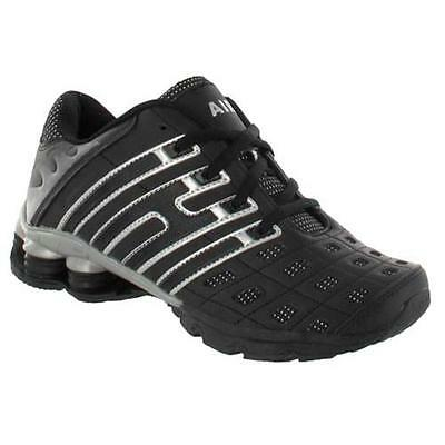 MENS RUNNING TRAINERS GYM JOGGING WALKING BOYS SHOCK ABSORBING SPORTS SHOES SIZE
