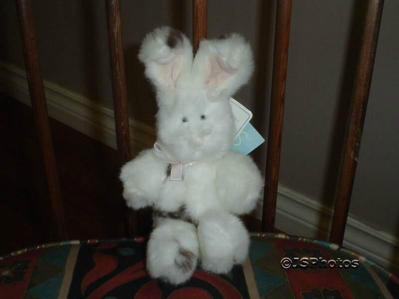 Russ Bunny Rabbit Plush Minky Handmade  2108 All Tags