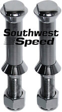 NEW 1928-1948 FORD FLAT TOP SPRING PERCH BOLTS,SUICIDE FRONT END,STAINLESS STEEL