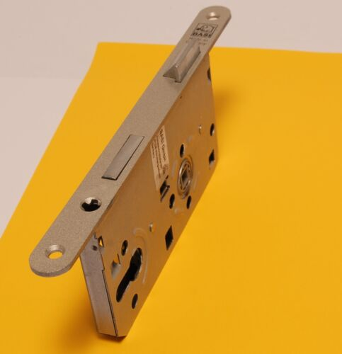 Einsteckschloss Zimmertürschloss PZ72 Dorn55 Stulp 235x20 rund käntig DR oder DL