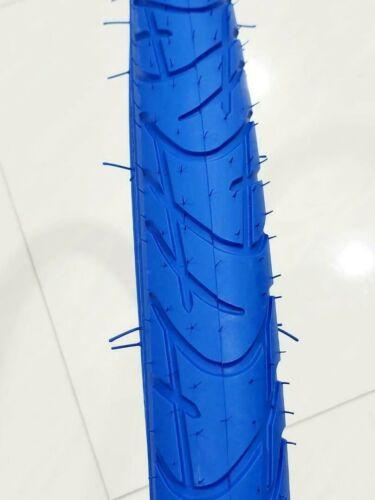 """bicyclettes New Street tire environ 71.12 cm 28 x 1.75/"""" Paire Vélo Pneu Bleu s/'adapte à tous les 28 in"""