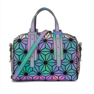 Women-Luminous-Bag-Diamond-Tote-Geometry-Quilted-Shoulder-Bags-Folding-Handbags