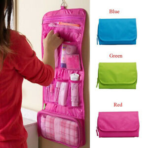 Travel-Cosmetic-Makeup-Bag-Toiletry-Case-Hanging-Pouch-Wash-Organizer-Storage