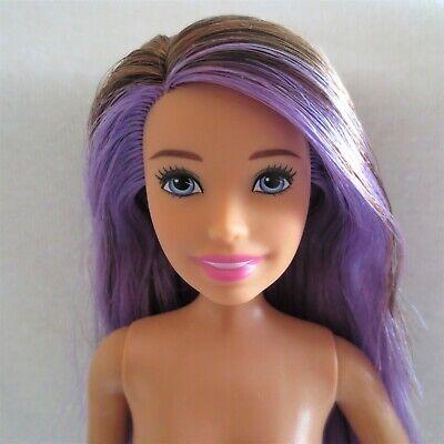 NEW Barbie Skipper Babysitter Doll Gray Smile Emoji Top Clothing Also Fit Barbie
