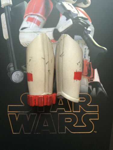 Hot Toys Star Wars Battlefront Shock Trooper Thigh Armour loose 1//6th scale