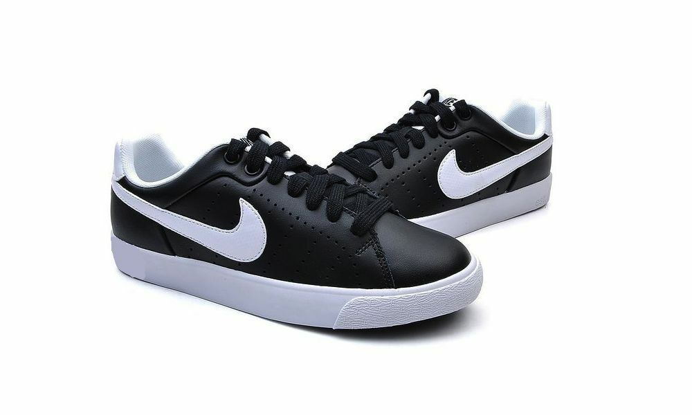 Nike Court Shoes Tour Skinny Leather  Women's Casual Shoes Court White/Black 532364 010 768401