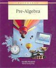 Pacemaker Pre-algebra by Fearon Globe 9780130236333 Hardback 2000