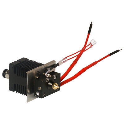 40W Geeetech Duel Extruder 2 in 1 out  Mix Color Hotend 0.4mm Nozzle 20V
