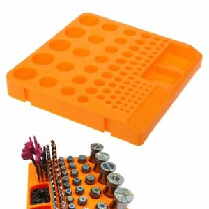 Storage-Box-Organizer-Container-Tray-Holder-For-Drill-Bit-Collet-Tool-Accessorie
