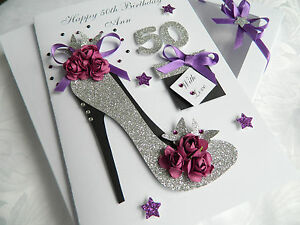 Handmade-Personalised-Birthday-Card-16-18-21-30-40-50-60-Any-Age-Gift-Box