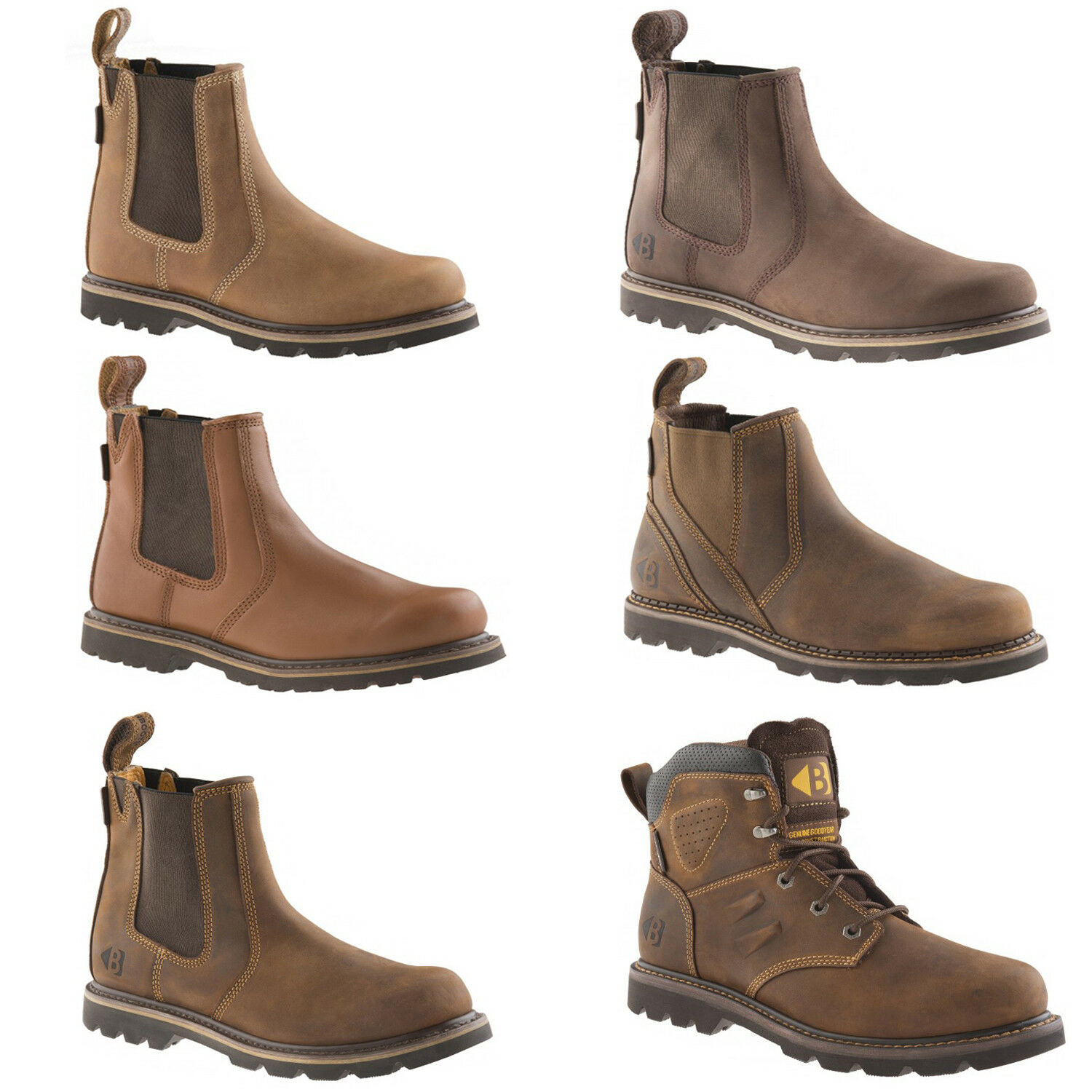Buckler Non-Safety and Work botas (Various Talla and Non-Safety Styles) Hombres Zapatos ad29db