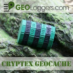 NEW-Customizable-CRYPTEX-Geocache-Cache-Container-Programmable-Code-3-Logs
