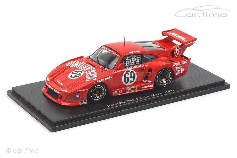 Porsche 935 k3 - 24h le mans 1980-akin miller Kent-Cooke-Spark 1 43 - s5