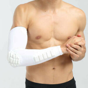 New-Pad-Sport-Cycling-Basketball-Shooting-Golf-Arm-Sleeve-Elbow-Armguards