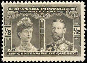 1908-Mint-NH-Canada-F-Scott-96-1-2c-Quebec-Tercentenary-Issue-Stamp